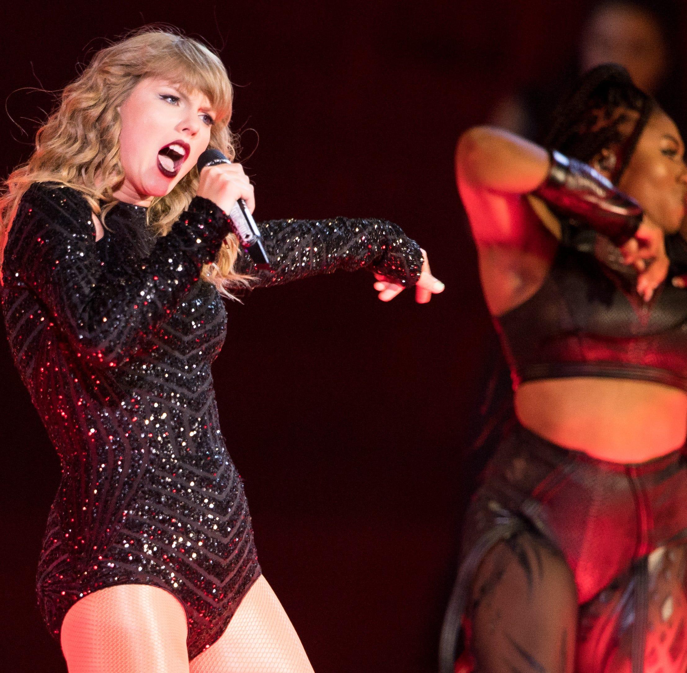 Shake it off: Taylor Swift's political endorsement draws praise, backlash