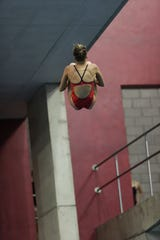Gulf Coast diver Olivia Ricard has placed in the top three in each of the last two state meets. She's looking for a gold medal in her senior year.