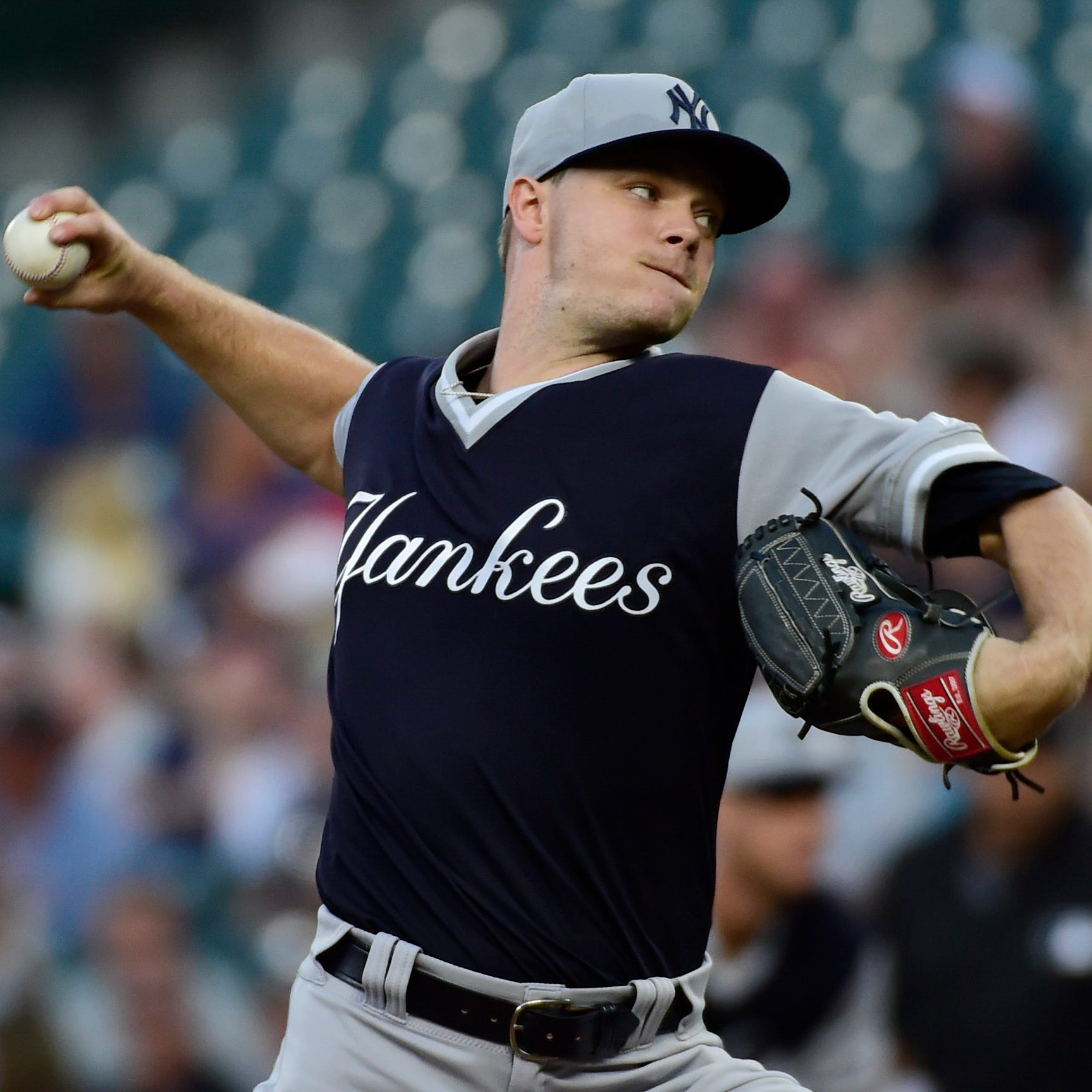Yankees finalize Sonny Gray trade to Reds for prospect Shed Long