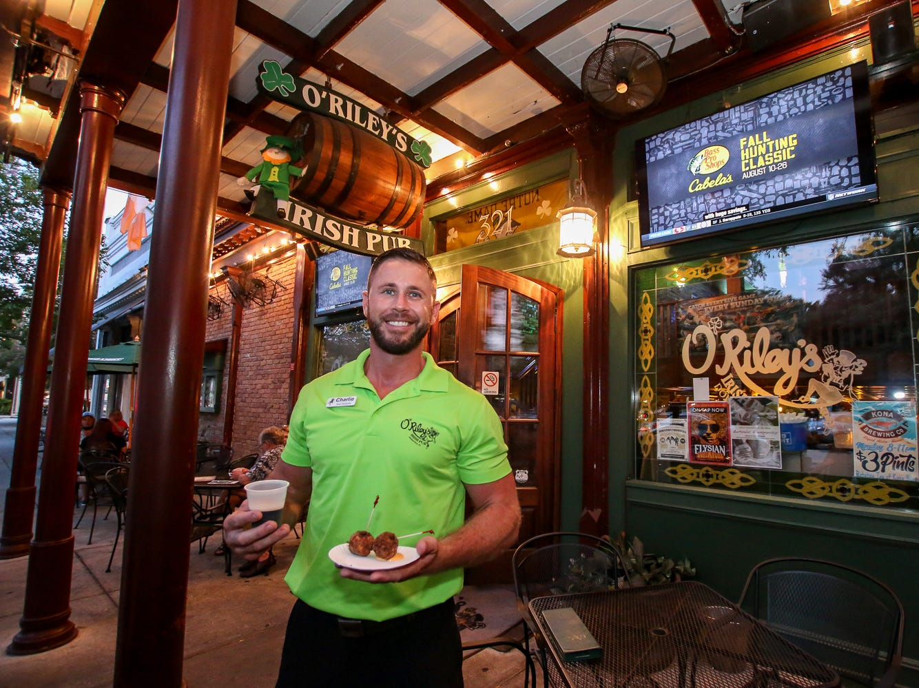 O'Riley's Irhs Pub offered Irish Boxties and a Guinness Draught during the Pensacola News Journal's 5th annual Tastemakers restaurant crawl on Saturday, August 25, 2018. The two-night event included about a dozen restaurants that each featured a food and drink item reoresenting a specific country, such as the United States, Mexico, Argentina and more.