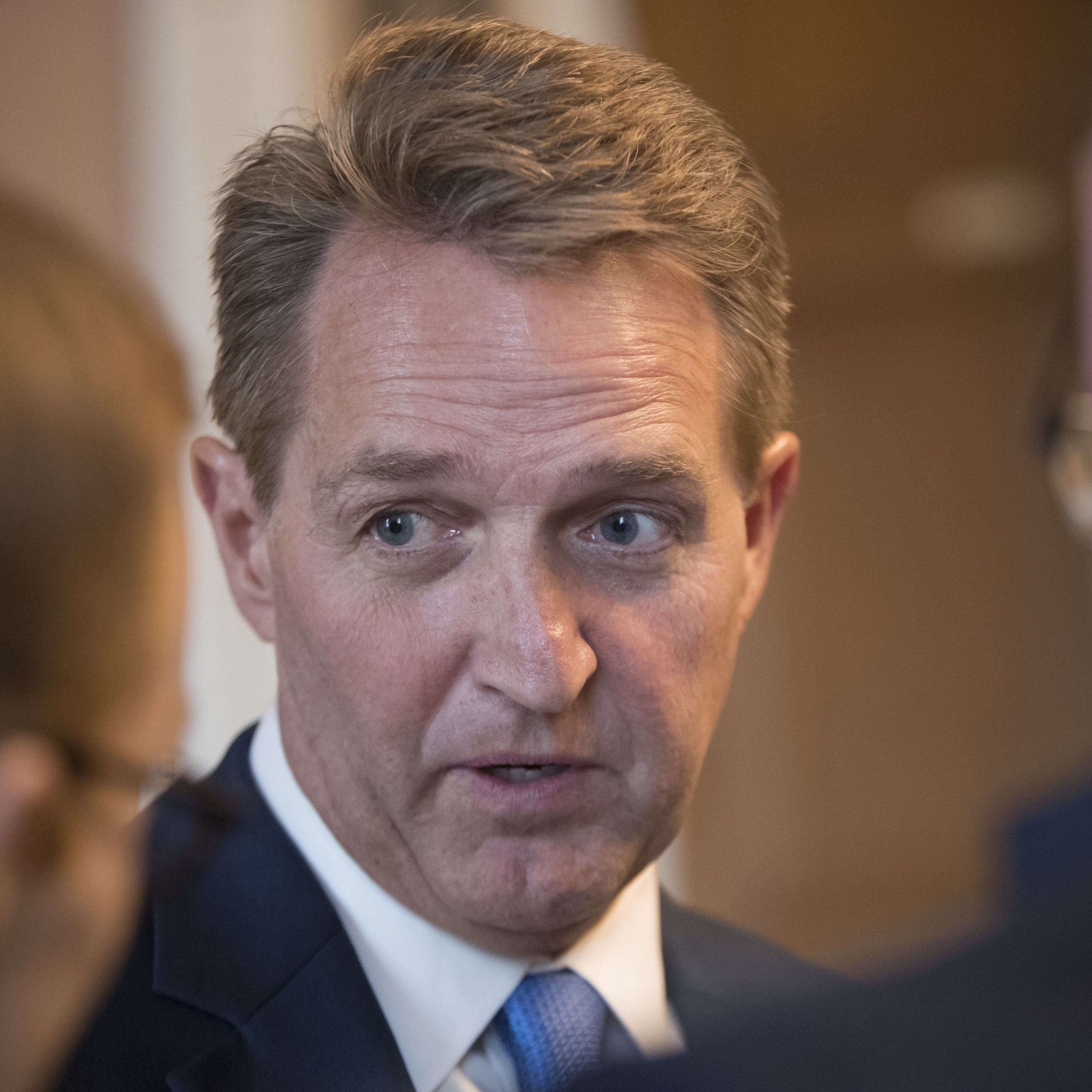 Sen. Jeff Flake douses speculation he'll run for president in 2020