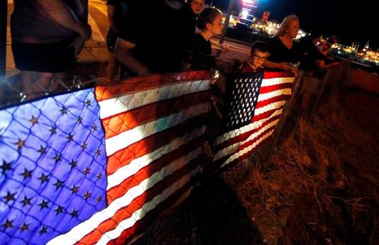 McCain procession