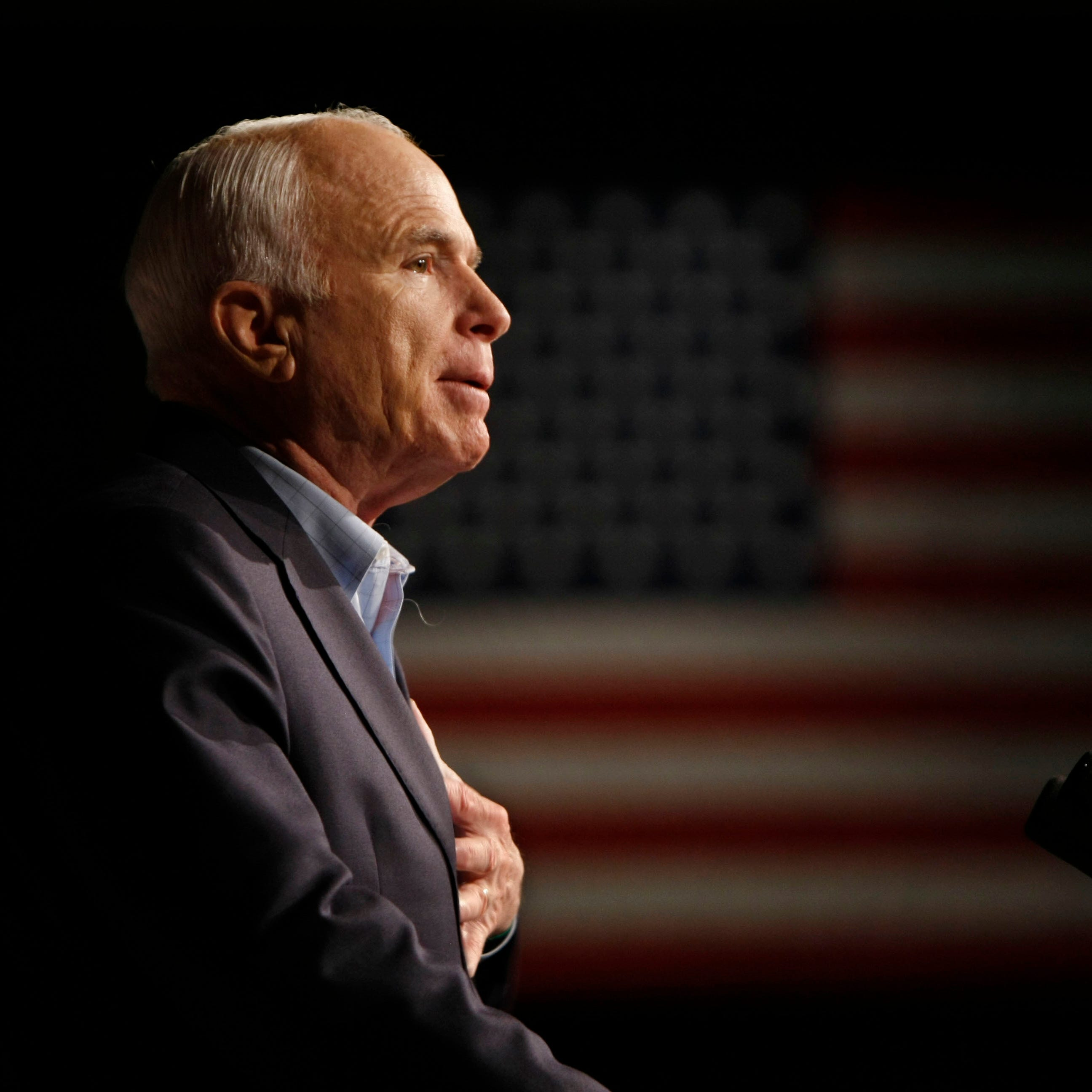 Former presidents Bush and Obama expected to speak at John McCain's funeral