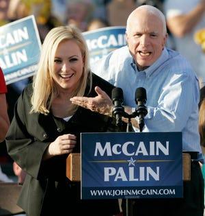 Sen. John McCain and his daughter Meghan in 2008.