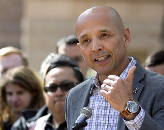 Democratic gubernatorial candidate David Garcia Garcia has largely eschewed big-name lobbyists and corporate political action committees, focusing on drawing young and minority voters to the polls.