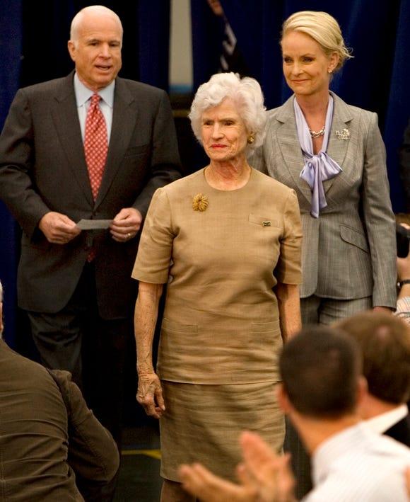 Roberta Mccain: Roberta McCain, John McCain's Mother, Alive At 106, Called
