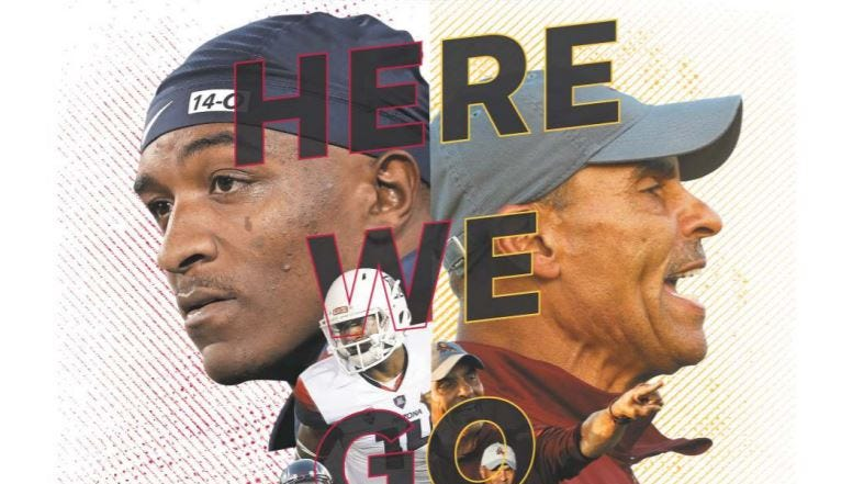 ASU's Herm Edwards, Arizona's Kevin Sumlin start new era in the desert