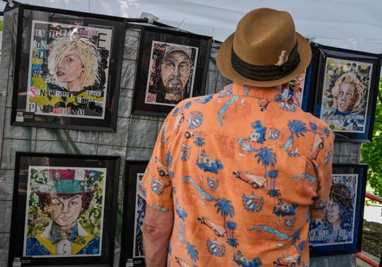 Thousands attend the final day of the Yorkfest Fine Arts Festival along the York County Heritage Rail Trail, Sunday, August 26, 2018. John A. Pavoncello photo
