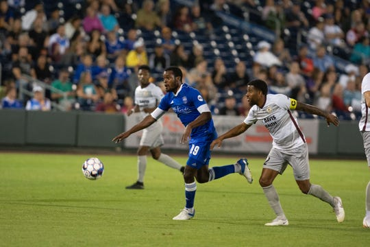 Reno 1868 FC's lost to Sacramento Republic FC, 2-1, on Saturday, Aug. 25, 2018 at Greater Nevada Field in downtown Reno.  Photo by David Calvert/Reno 1868 FC