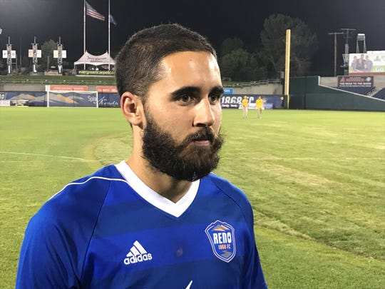 Seth Casiple talks about  Reno 1868 FC loss to Sacramento 2-1 on Saturday at Greater Nevada Field in downtown Reno.