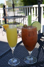 You can get bottomless bloody marys and mimosas at Farmers Gastropub during brunch.