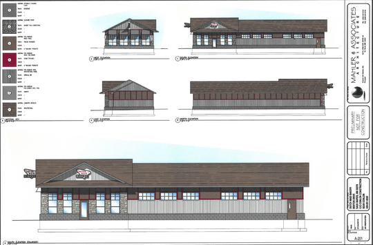 Site plans for the new Dutch Maid Bakery in Sauk Rapids.