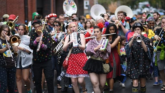 """""""The School of Honk"""" a 2018 documentary short, tells the story of an eclectic community brass band."""