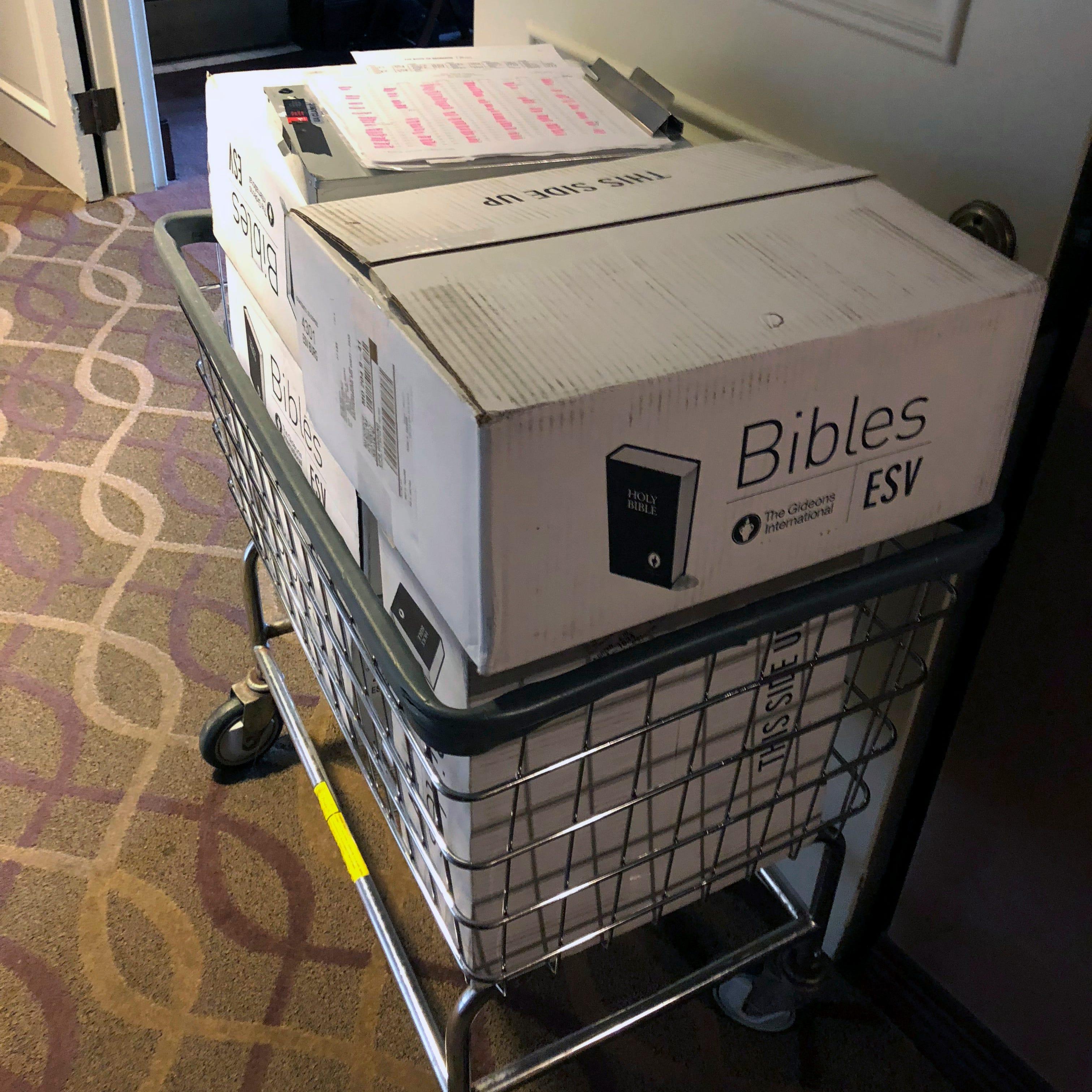 New Marriott rooms to get Bible, Book of Mormon