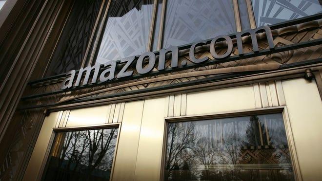Amazon HQ's front door