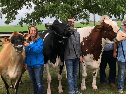 Three Milksource Genetics Trio