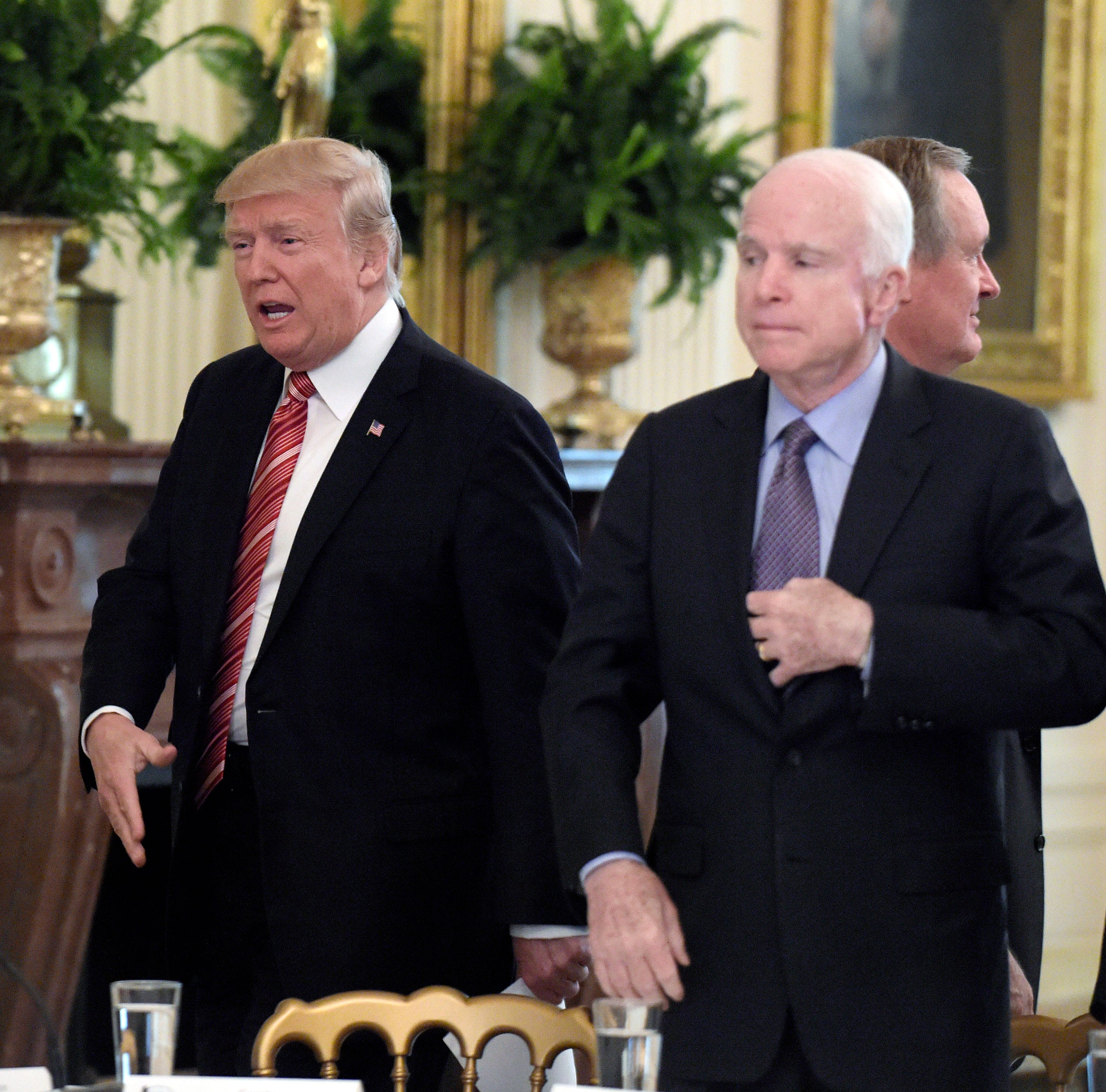 Tale of the Tape: Donald Trump vs. John McCain
