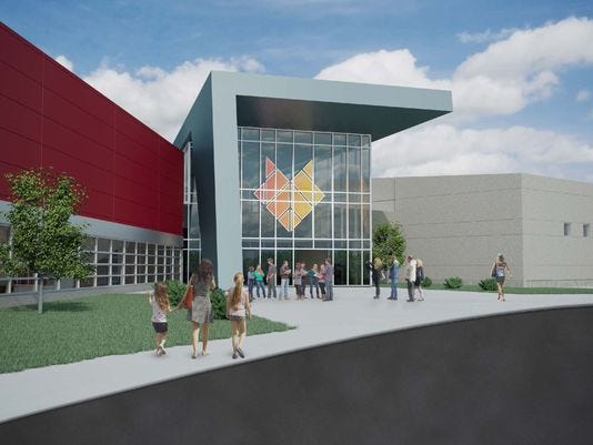 A groundbreaking ceremony for the Fox Cities Champion Center is set for Sept. 18.