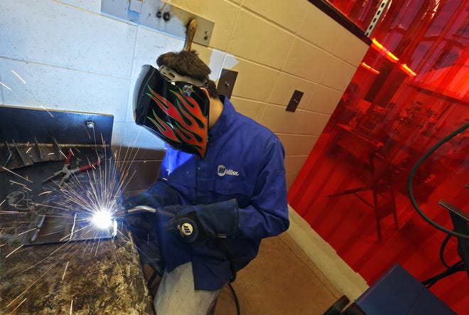 A career in the trades is becoming a viable alternative to four-year colleges for some students. (Dan Powers/USA TODAY NETWORK-Wisconsin)