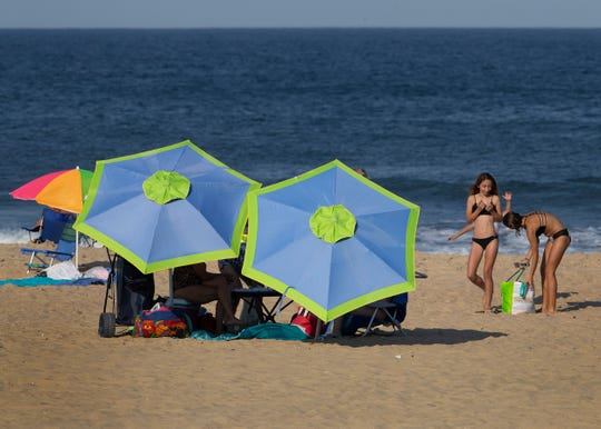 Belmar is one of the beaches residents can relax on in the summer.