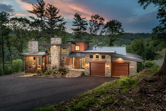 This home by Living Stone Construction was certified by the Asheville based Green Home Alliance.