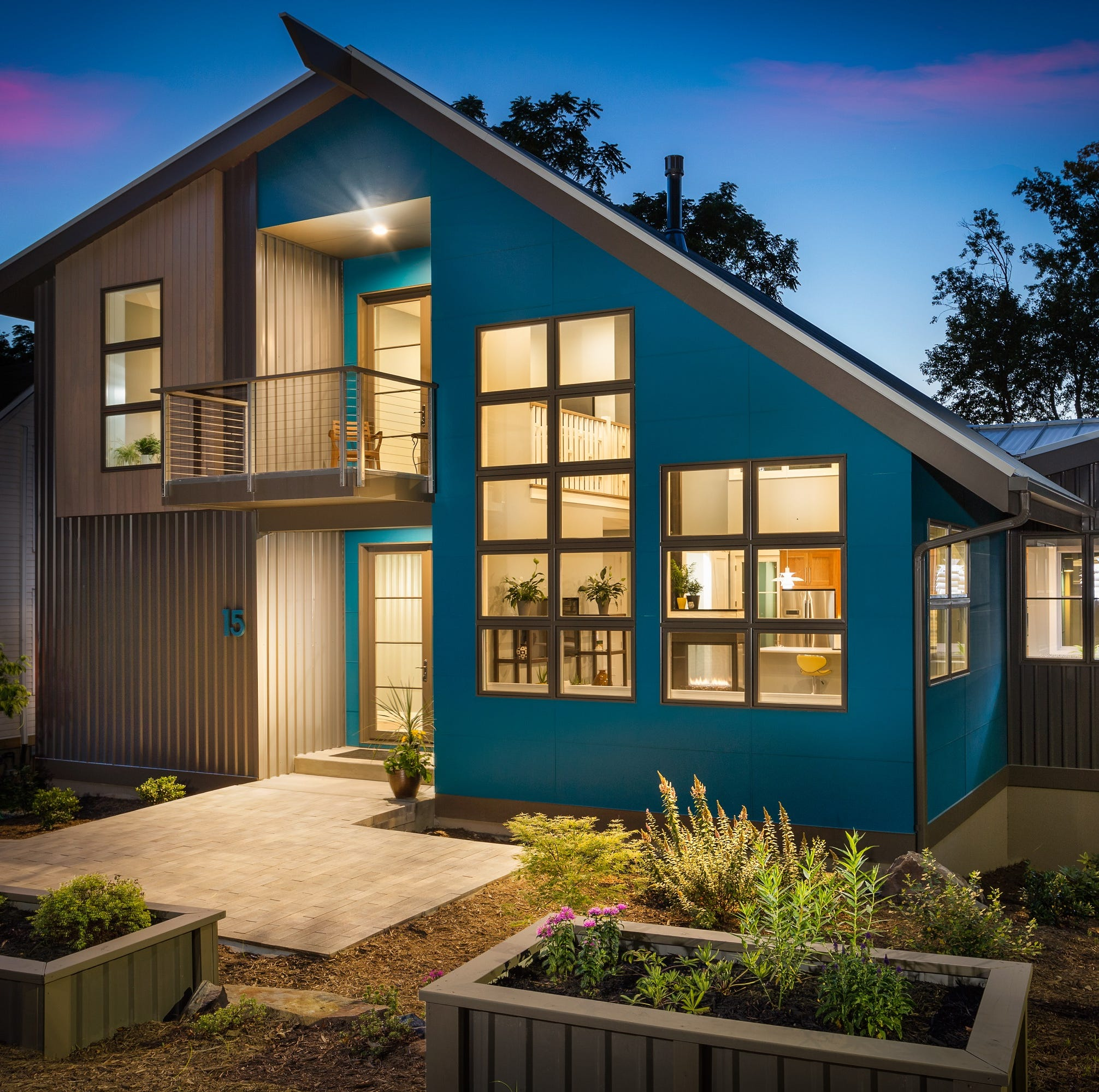 Certified green homes in North Carolina now number at least 1,500
