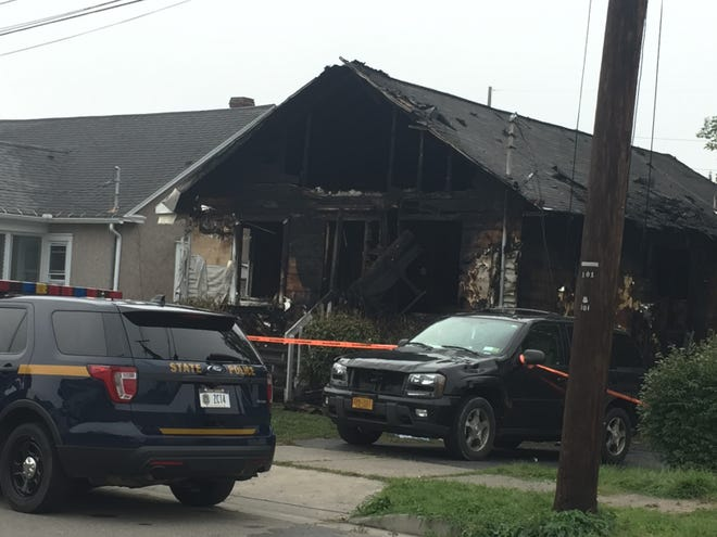 A house at 3304 Wayne St., Endwell, was destroyed in a fire late Sunday, Aug. 26, 2018.