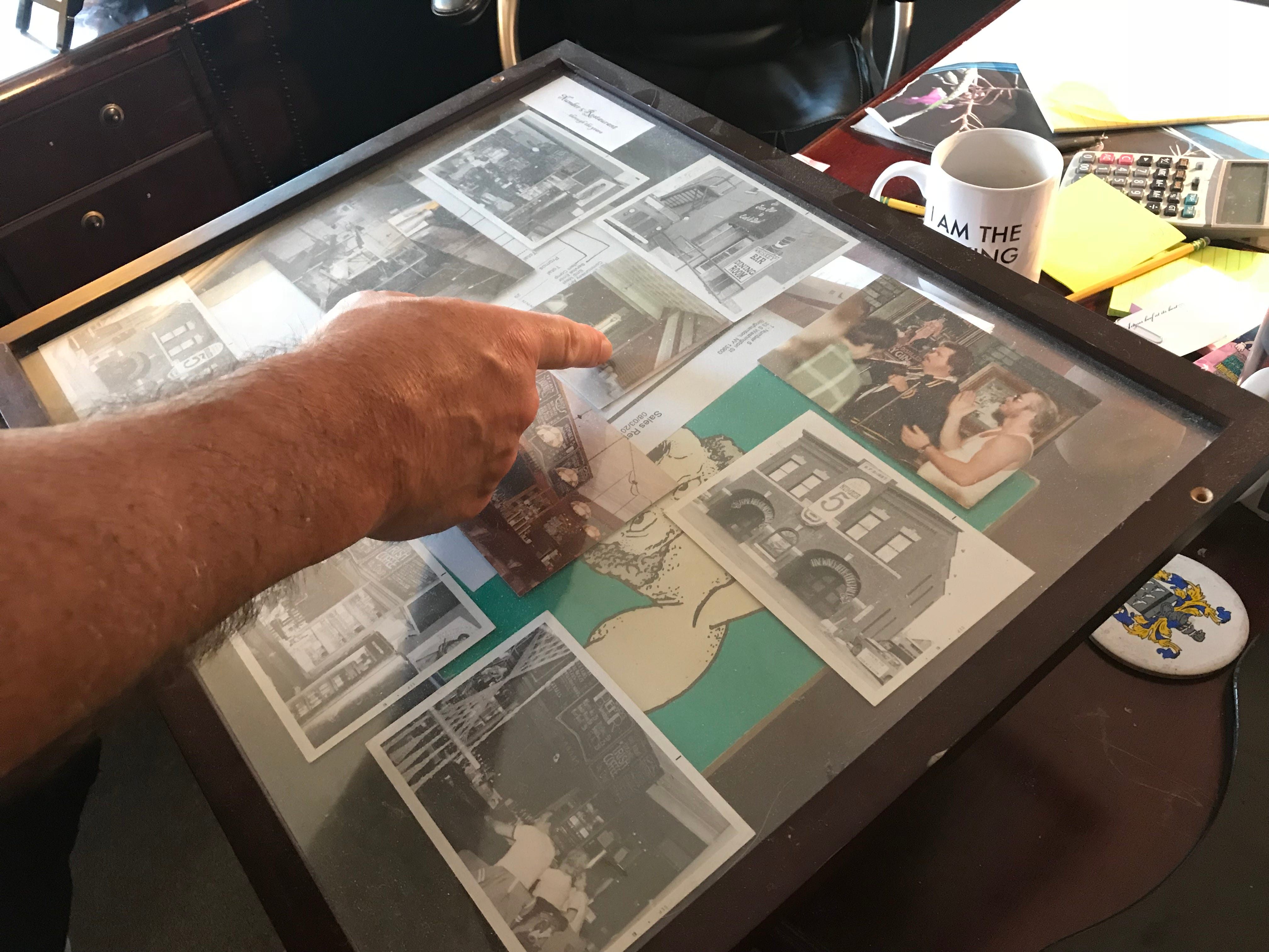 Jim McCoy, owner of the Number 5 Restaurant in Binghamton, has saved a collection of photographs from his 40 years as the restaurant's owner.