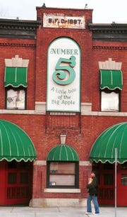 The Number 5 Restaurant in Binghamton, pictured in February of 1999.