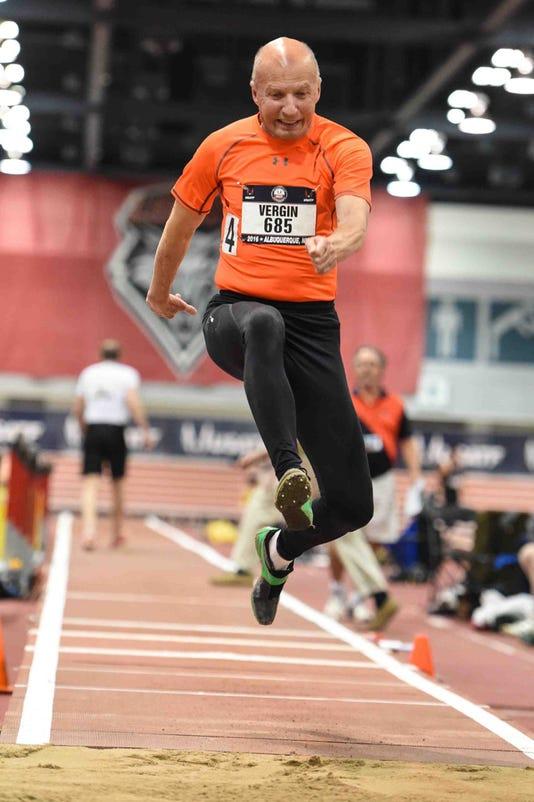 Roger Vergin In Triple Jump