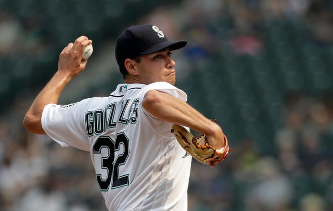 The Seattle Mariners placed starting pitcher Marco Gonzales on the 10-day disabled list on Monday.