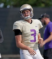 Jake Browning and the Washington Huskies will face an Auburn defense that's as talented as any he's seen since Alabama.