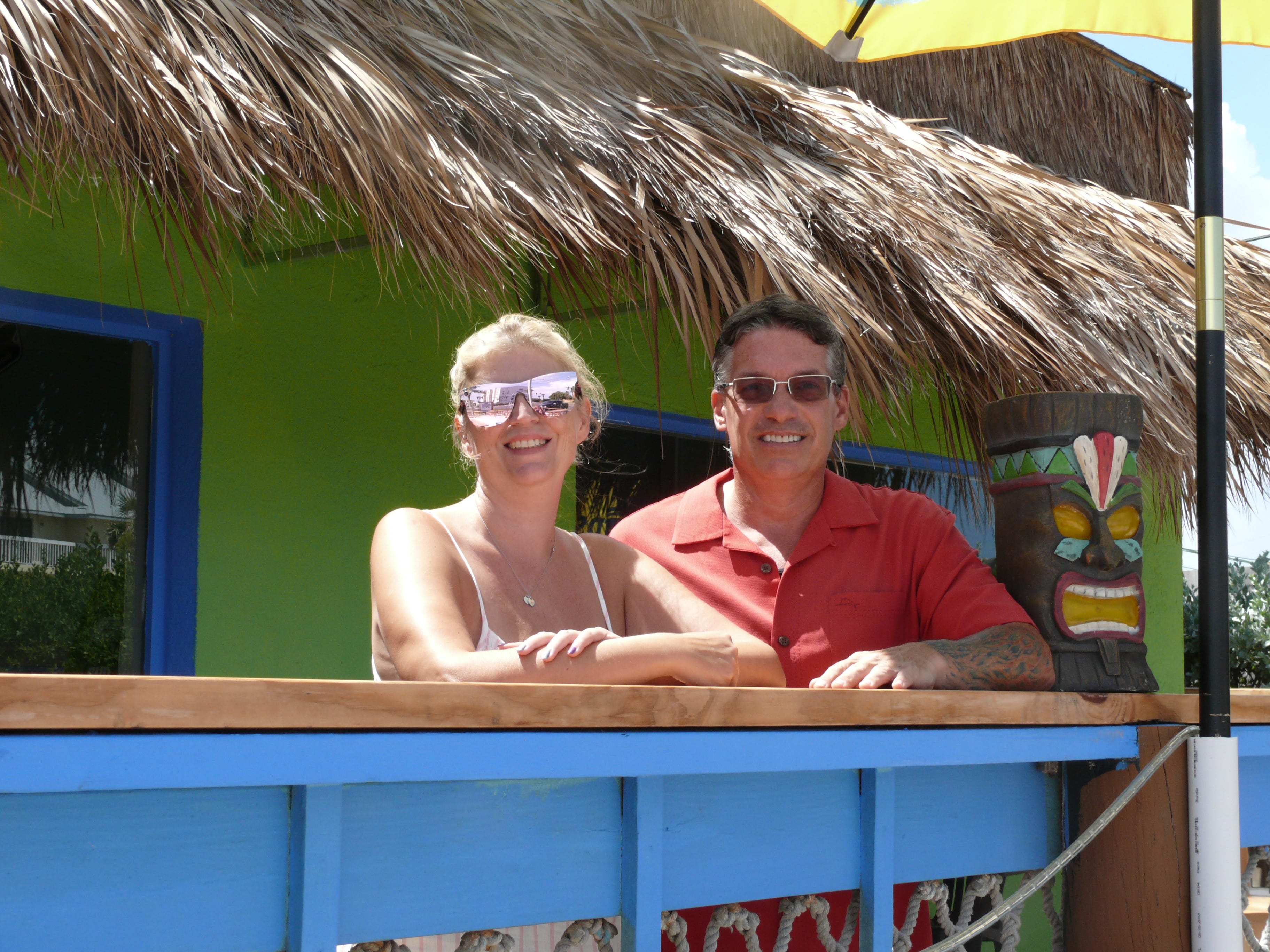 CLOSED: Kim and Jeffrey Leggee recently opened the beachy Shuck Shack in Satellite Beach.