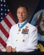 Master Chief Special Warfare Operator (SEAL) Britt K. Slabinski  United States Navy (Ret.)