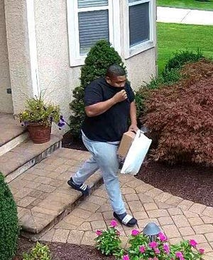 Cherry Hill police say they want to identify this man in reference to a theft last month.