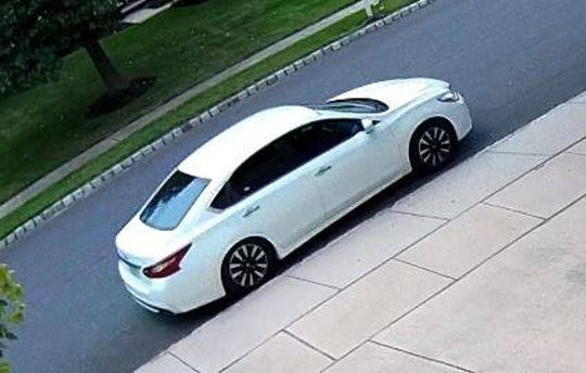 Cherry Hill police say they want to identify this vehicle in reference to a theft last month.