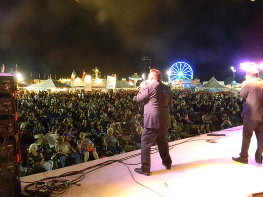 Mciaf From Stage By Barry Chiorello Jpg Italian Festival Mercer County 2017