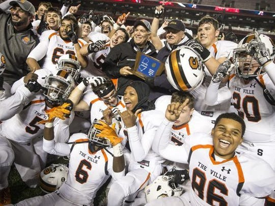 Somerville celebrates 2017 sectional championship