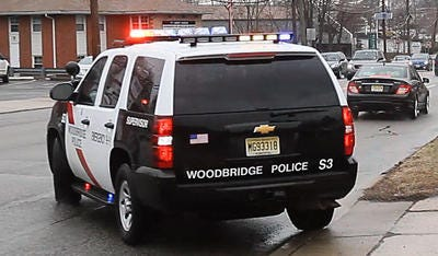 Woodbridge police responded to a two-vehicle crash on Route 9 south near Woodbridge Center in which an adult and child suffered non life threatening injuries.