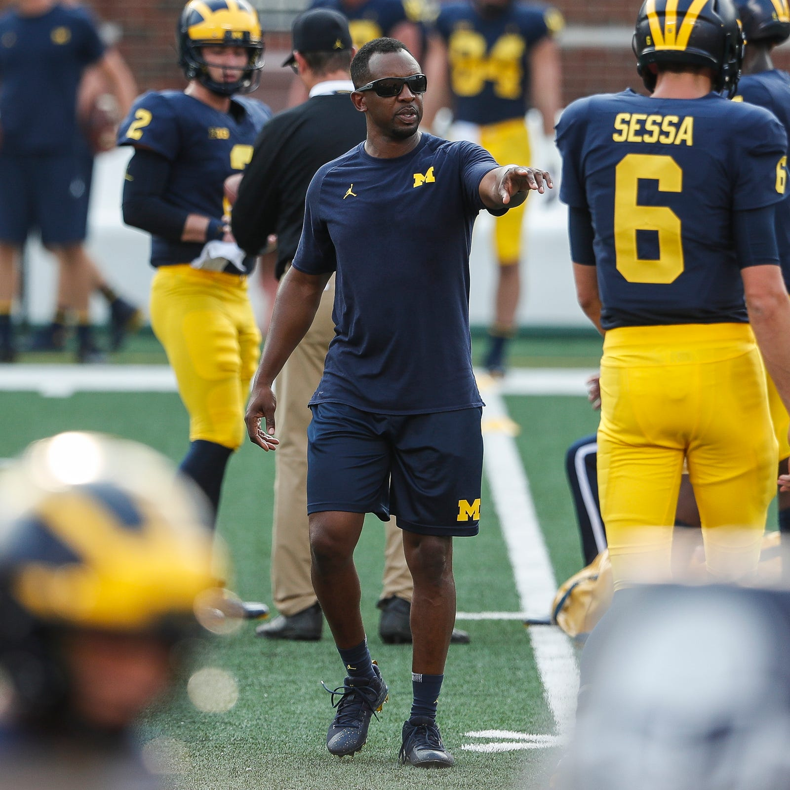 Michigan football's Pep Hamilton: Physical football not going anywhere