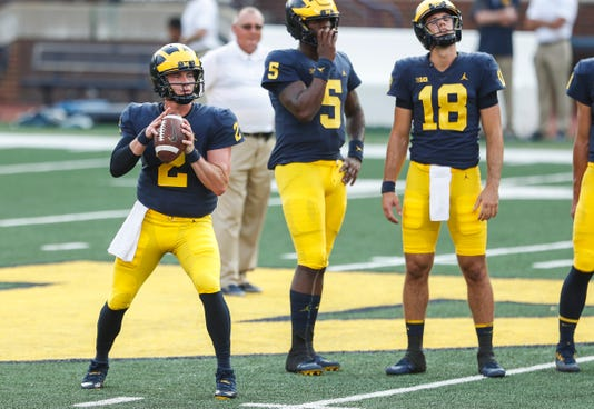 Shea Patterson, Joe Milton, Brandon Peters