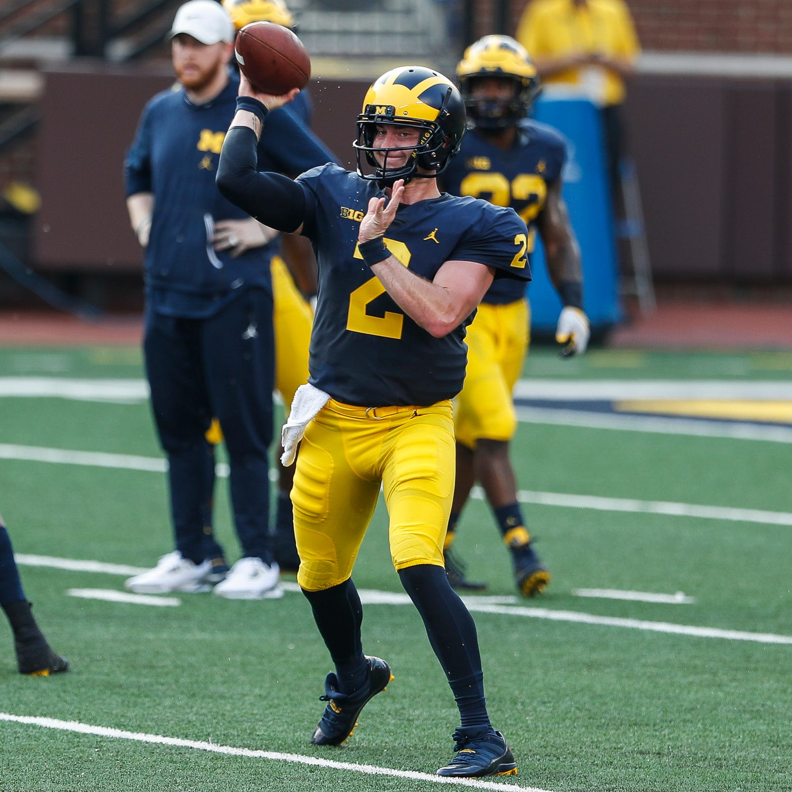 If Michigan's Shea Patterson finds success, so will Wolverines