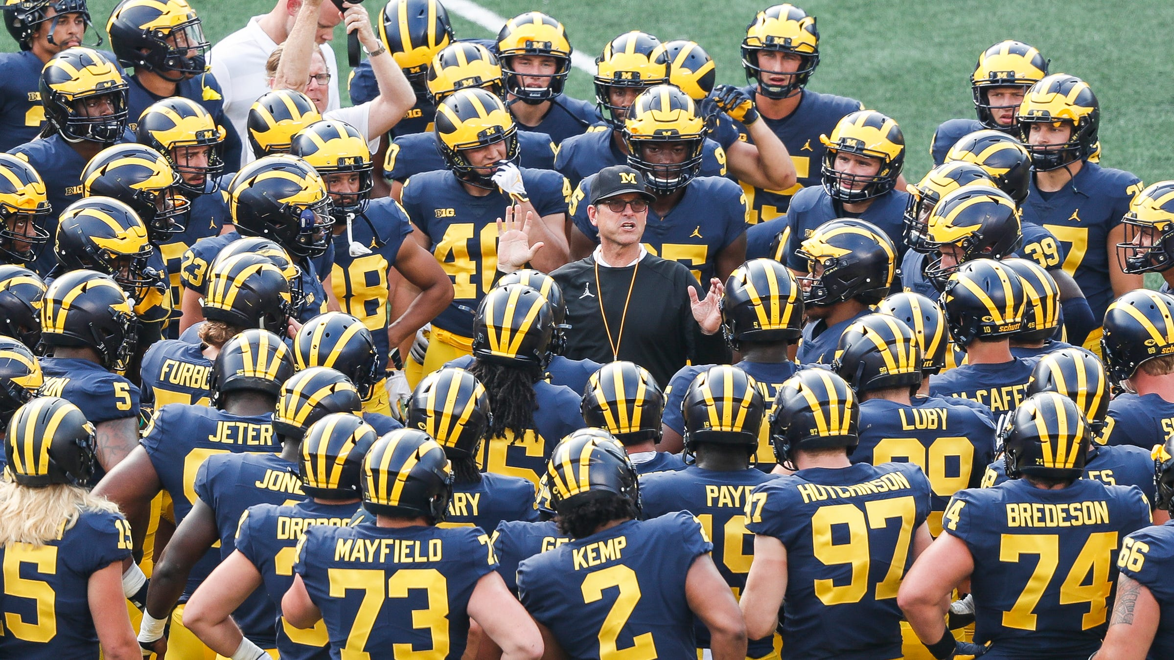 Michigan Football Schedule 2018 Game Results And Recaps