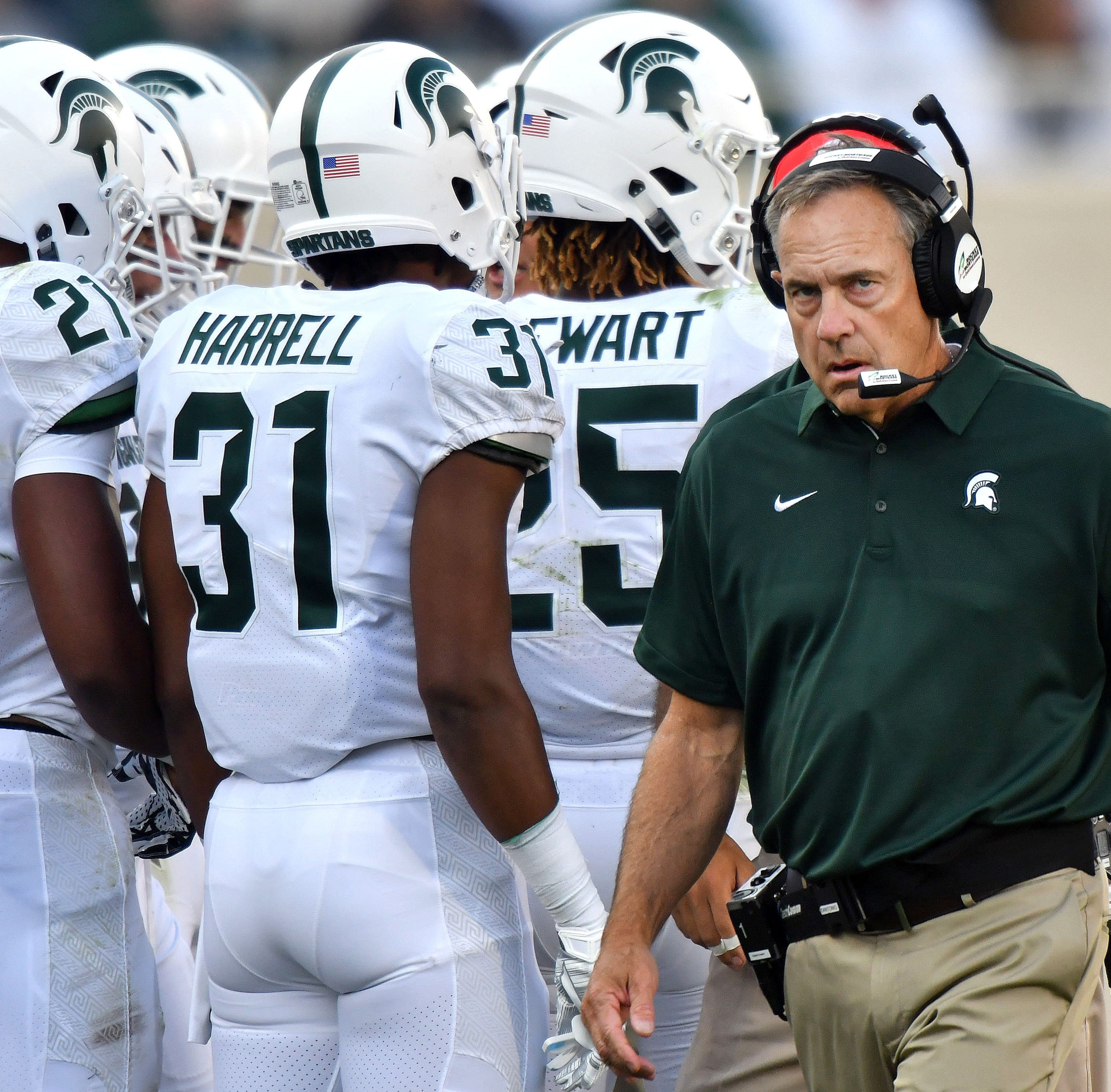 Slaying top-10 foes becomes Mark Dantonio's calling card