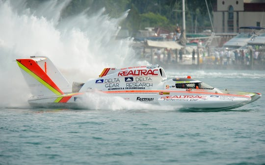 The Gold Cup won't return to the Detroit River in 2019.