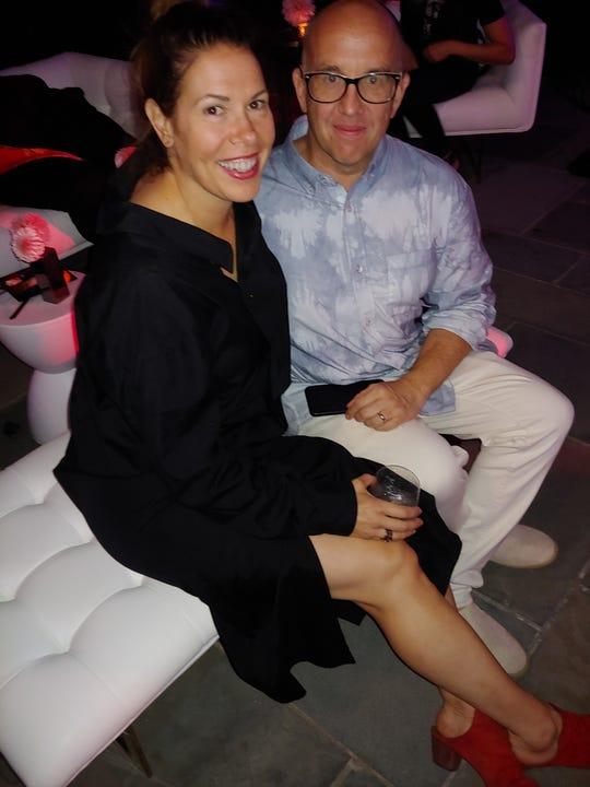 Elysia Borowy-Reeder and Scott Reeder