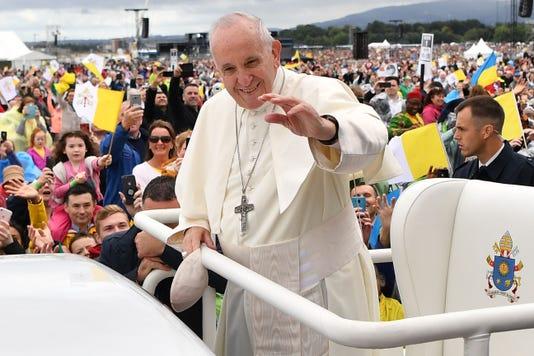 Bestpix Ireland Vatican Religion Pope