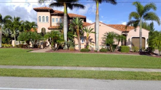 This home at  3520 Surfside Blvd., Cape Coral, recently sold for $1.1 million.