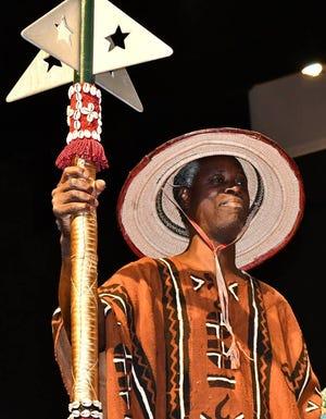 West African master drummer Bolokada Conde
