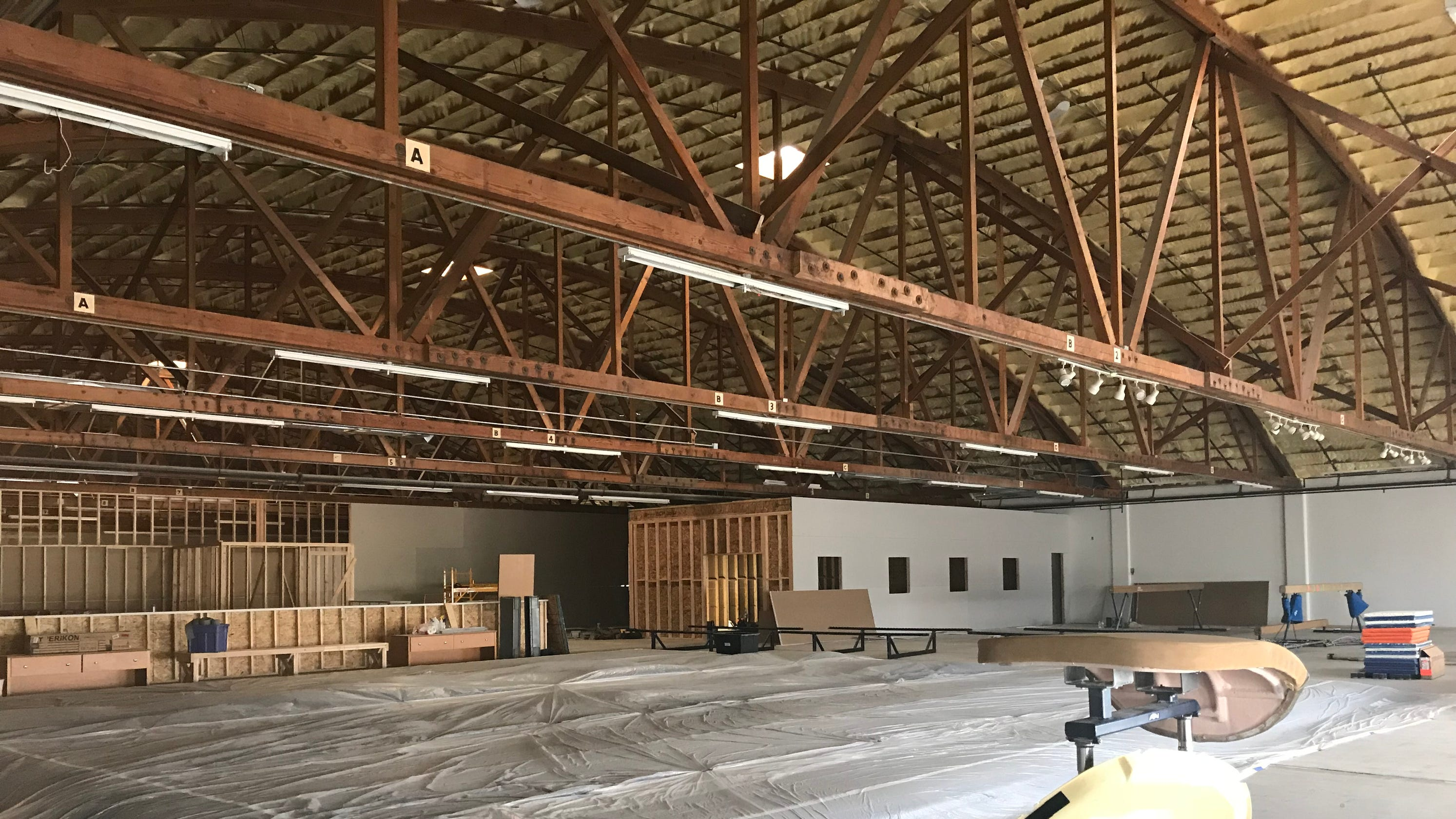 Pacific Galleries Building Revived As Gymnastics Center